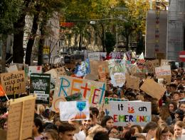 Environmental protection protest