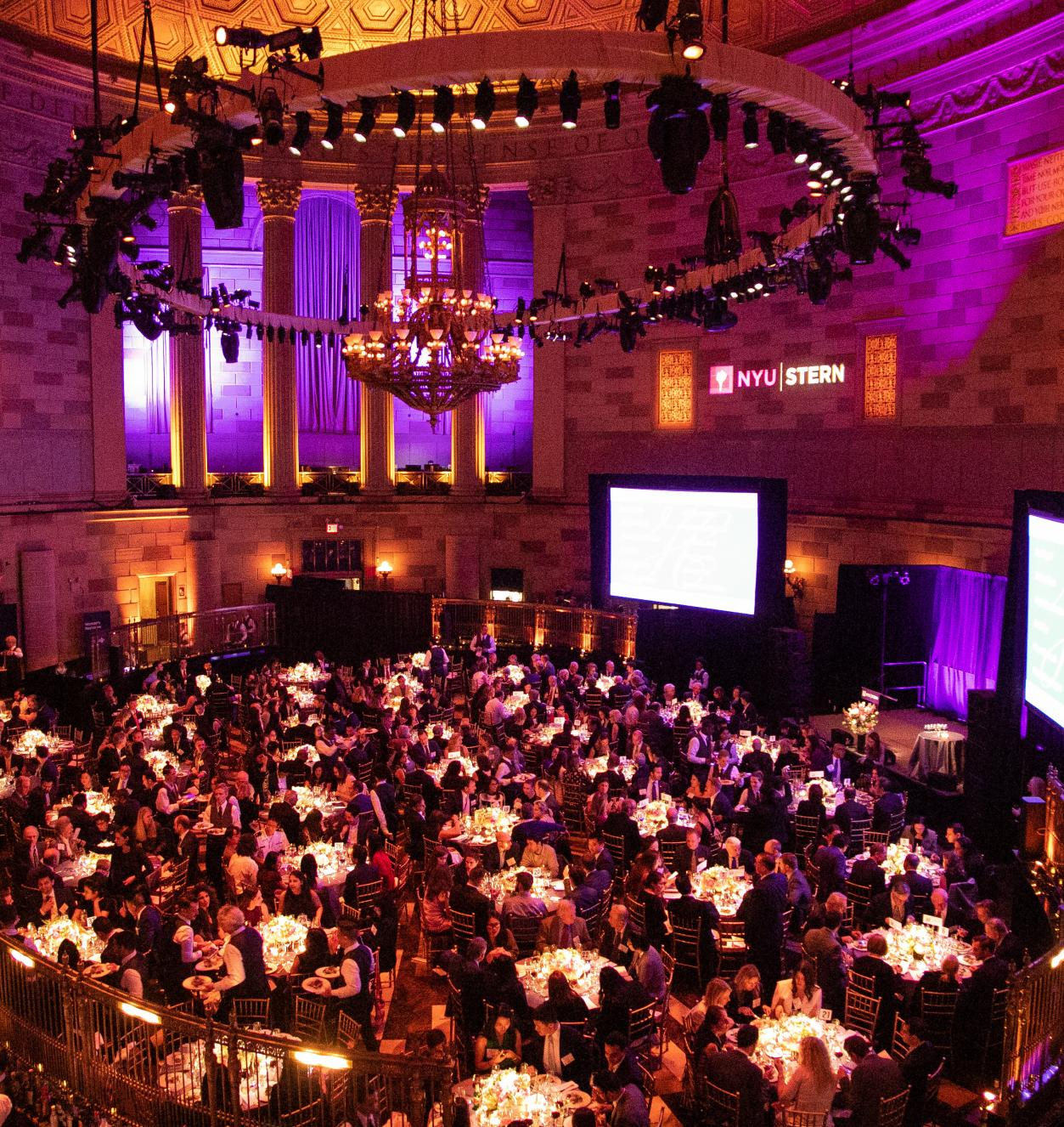 Gotham Hall during the 2019 Haskins Dinner
