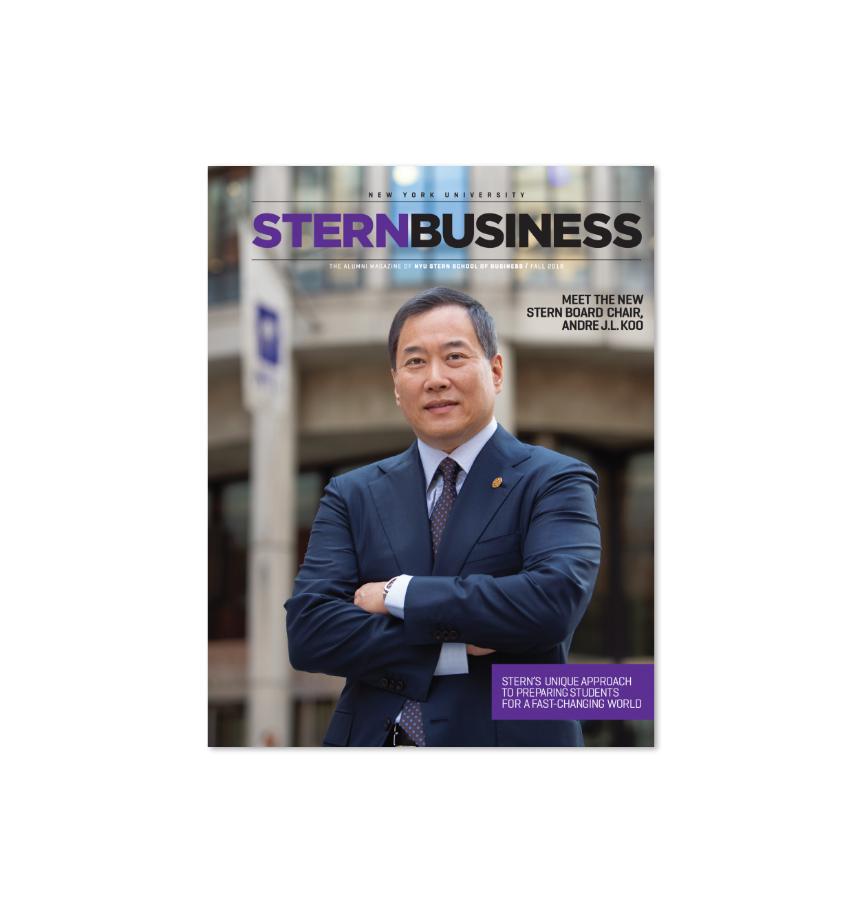 Cover of SternBusiness Magazine