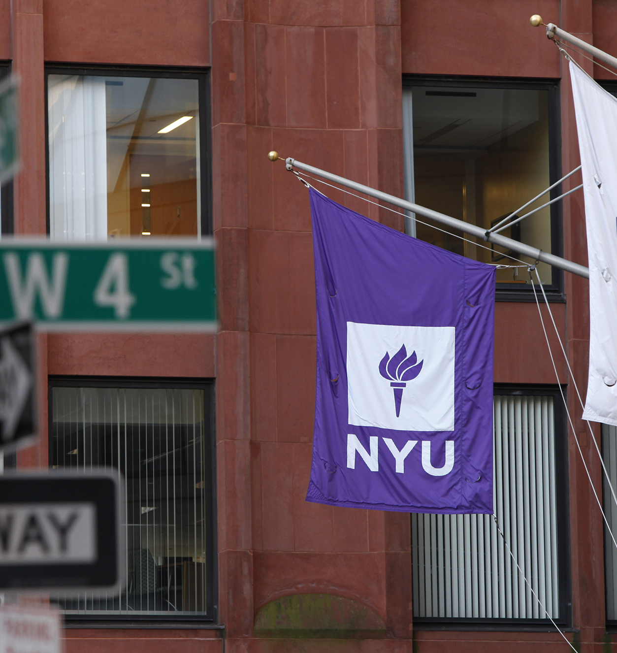 NYU Stern building at West 4th and Greene