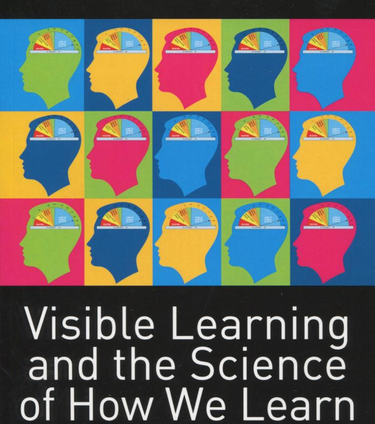 Book cover for Visible Learning and the Science of How we learn