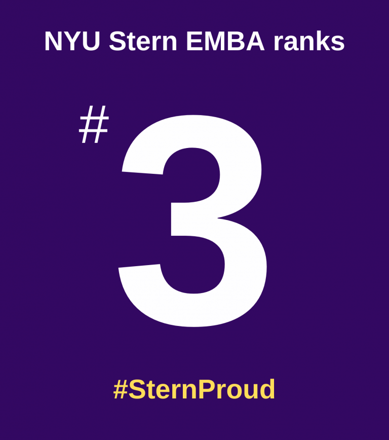 EMBA ranked 3rd