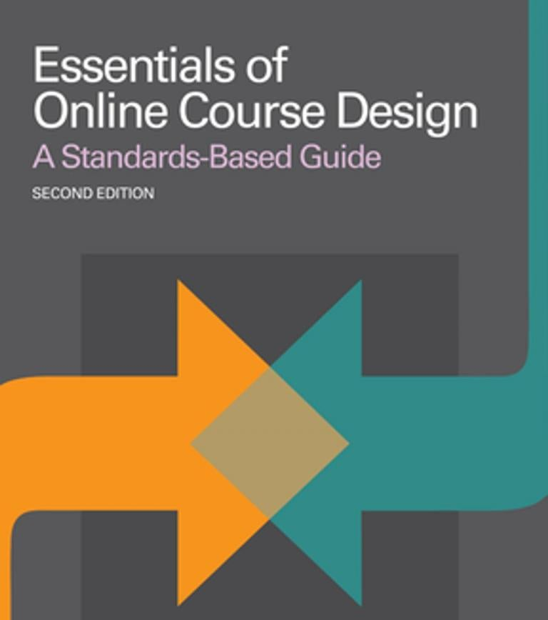 Book cover for Essentials of Online Course Design