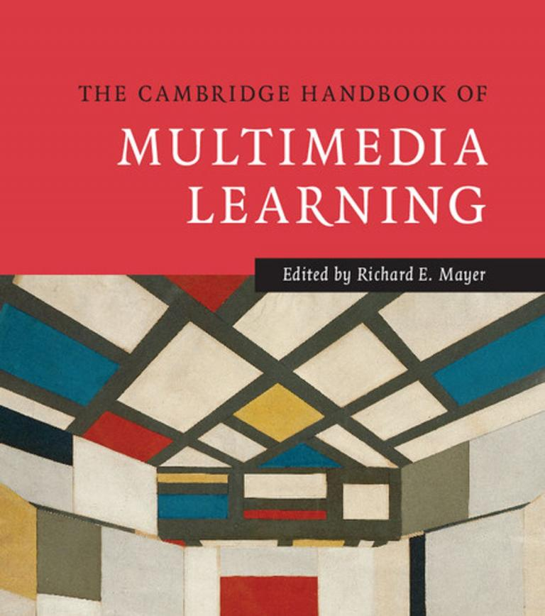 Book cover for the Cambridge Handbook of Multimedia Learning