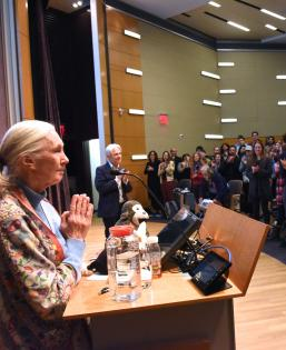 Jane Goodall Speaking Business and Society Program Event