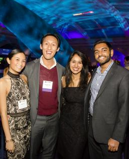 Alumni gather at the American Museum of Natural History for the annual Alumni Holiday Celebration