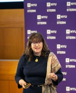 Annabelle Gawer presenting at the NYU Stern Digital Innovation Conference