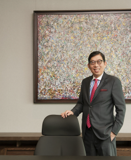 Richard Ming-Hsing Tsai (MBA '81), Chairman and CEO of Fubon Financial Holding Co., Ltd. together with Fubon Financial Holding Co., Ltd.
